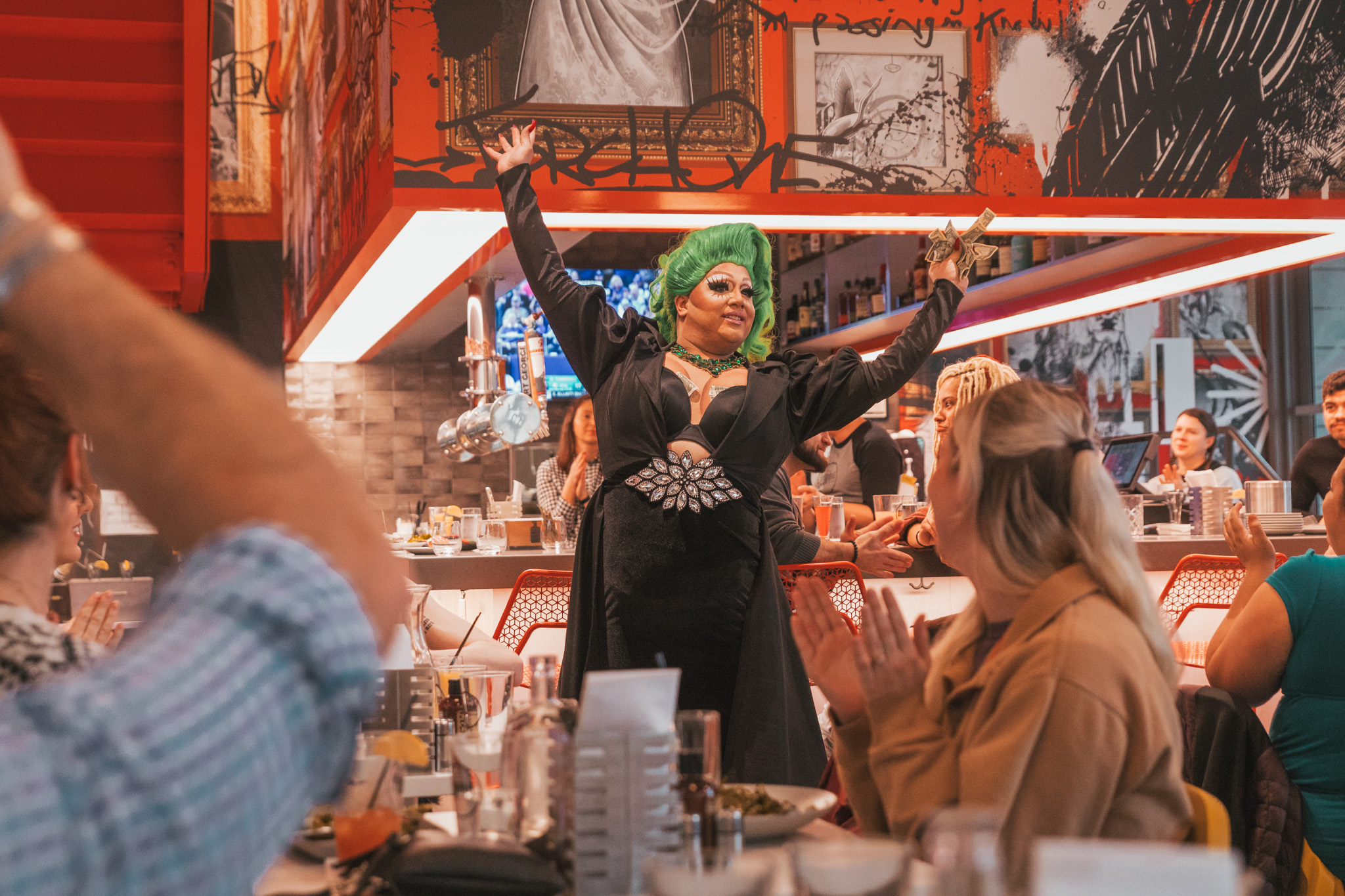 Recover Drag Brunch // Checking In: The Radisson Red in Downtown Portland, Oregon #readysetjetset #pdx #portland #blogpost #travelguide