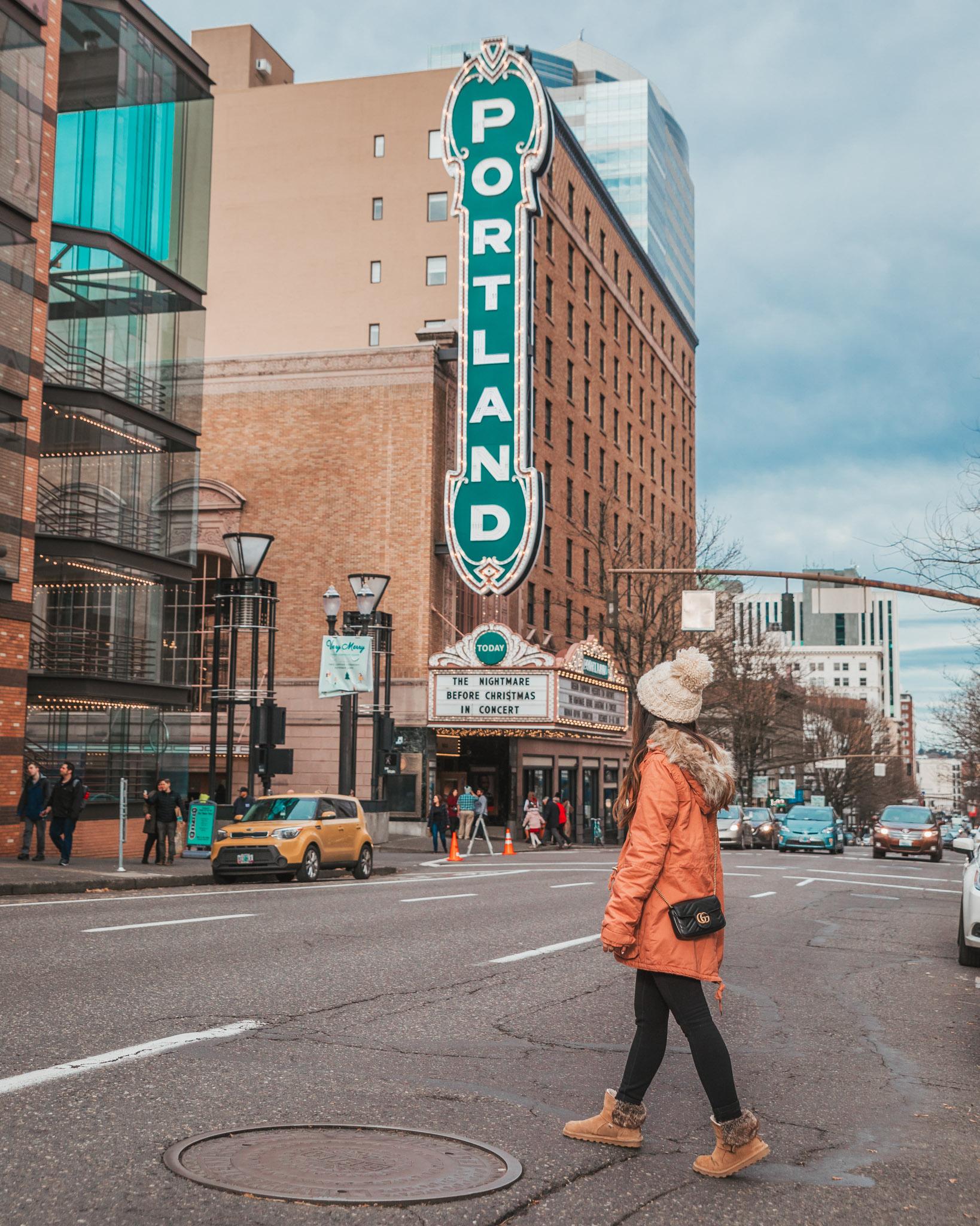 Arlene Schnitzer Concert Hall // The Most Instagrammable Spots in Portland, Oregon // #readysetjetset #portland #oregon #pdx #pnw #blogpost #photoguide