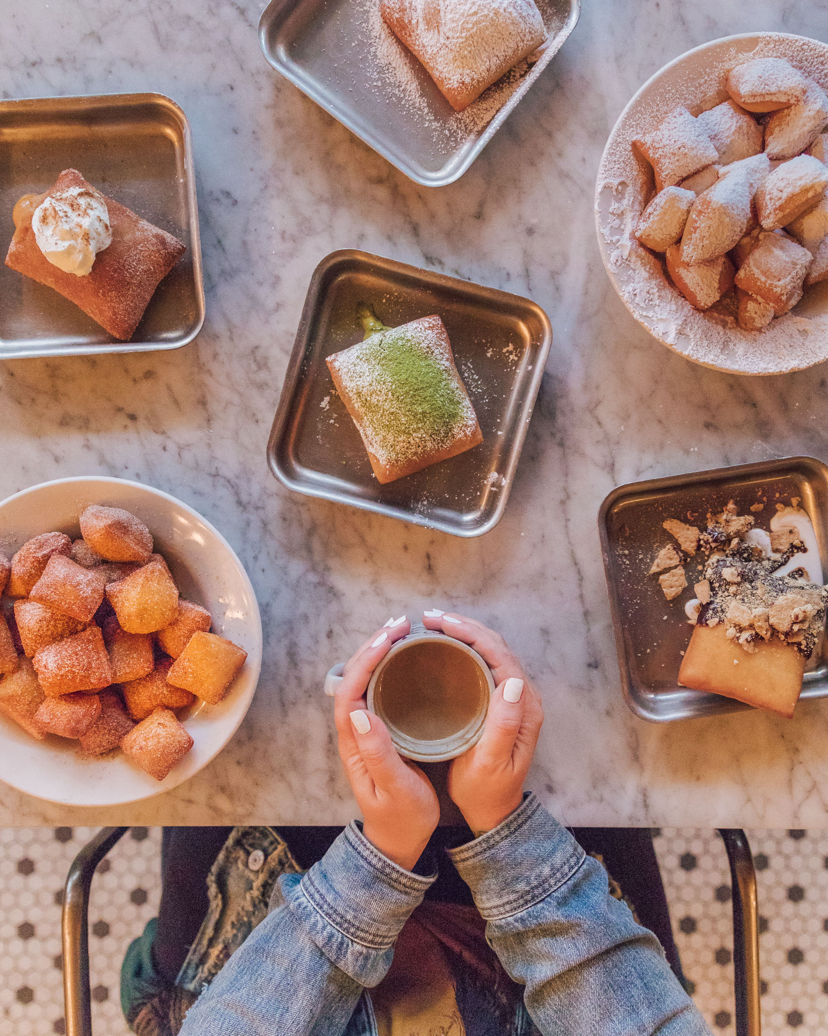 Beignets at The Vintage NOLA // The Most Instagrammable Spots in New Orleans // #readysetjetset www.readysetjetset.net