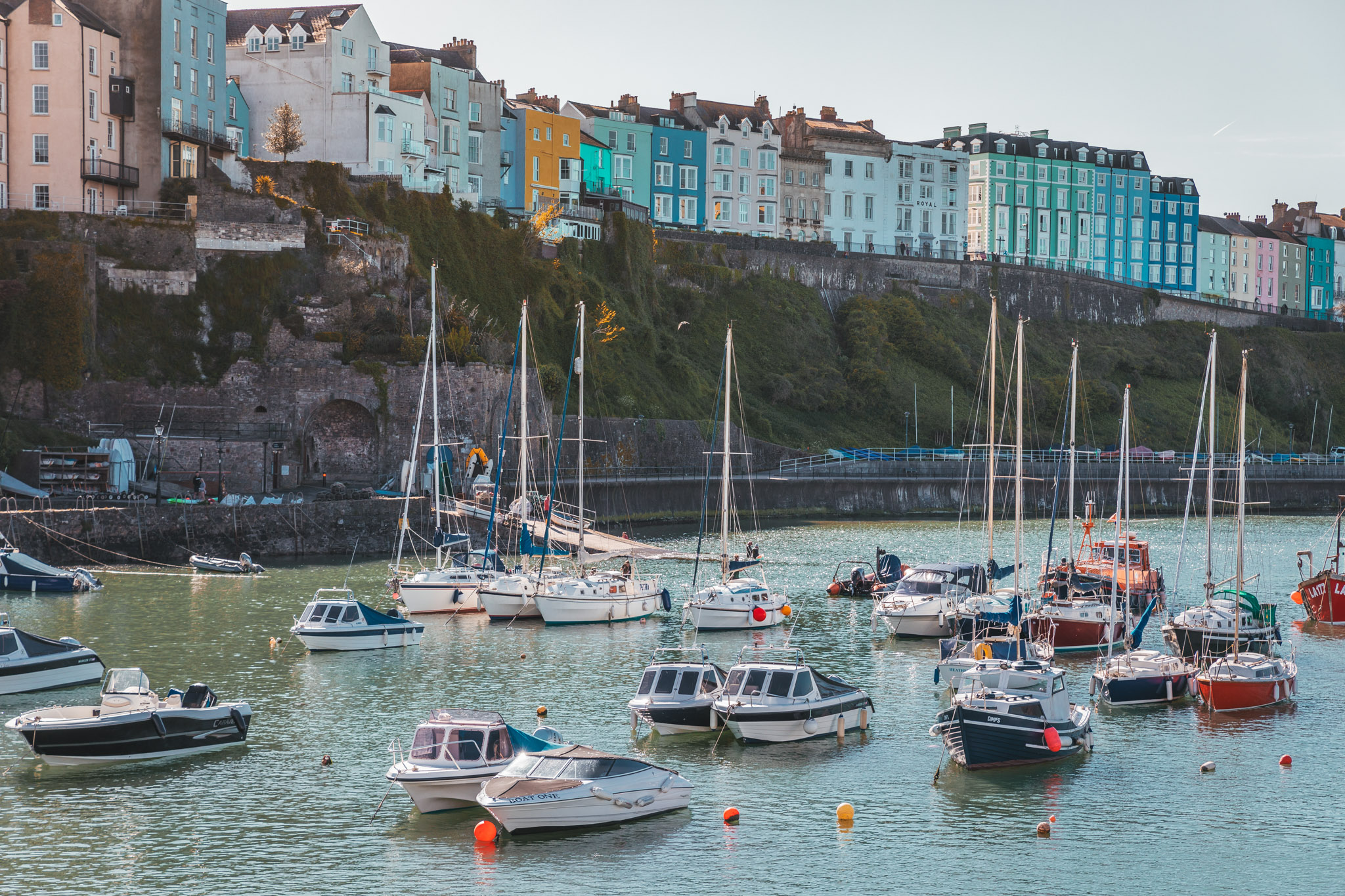 Tenby harbour // The Most Beautiful Places to Visit in Wales // #readysetjetset #wales #uk #welsh #travel #photospots #blogpost