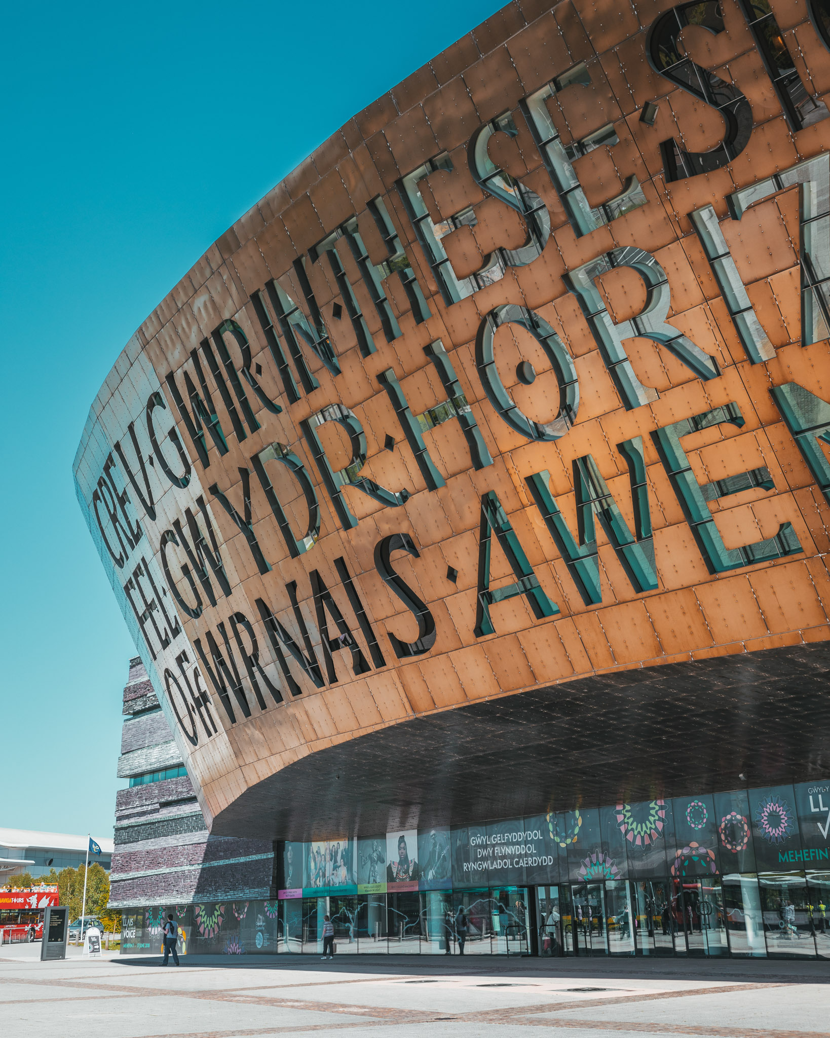 Cardiff Millennium Centre // The Most Beautiful Places to Visit in Wales // #readysetjetset #wales #uk #welsh #travel #photospots #blogpost