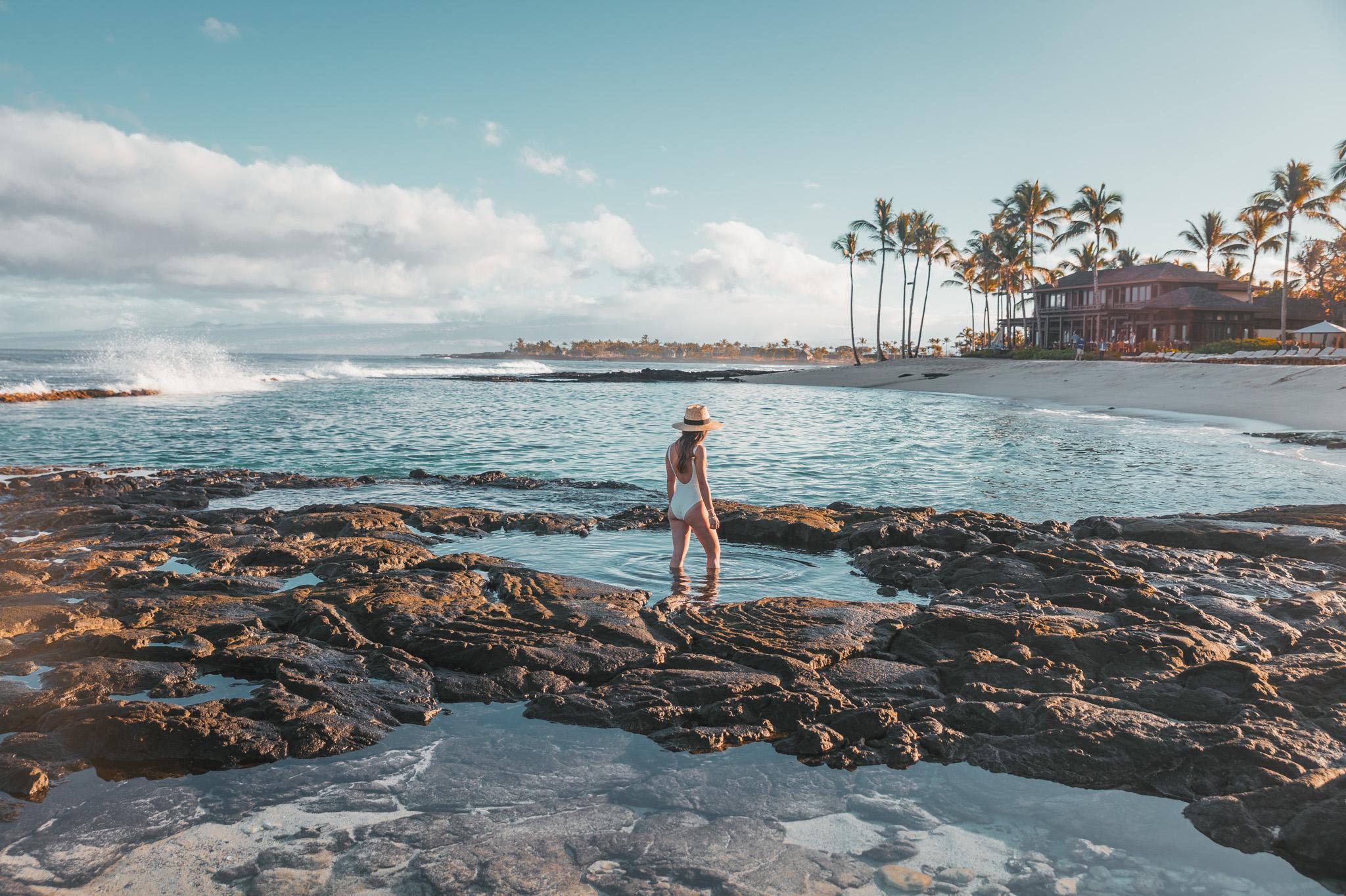 Ocean pools // A Luxury Stay on the Big Island: Four Seasons Resort Hualalai // #readysetjetset #hawaii #bigisland #luxuryhotels #beachresorts #usa #travel