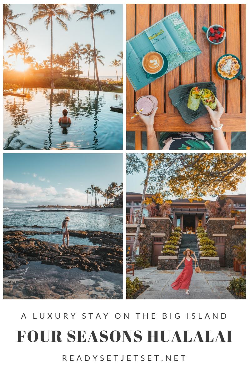Blog Post: A Luxury Stay on the Big Island - Four Seasons Resort Hualalai // #readysetjetset #hawaii #bigisland #luxuryhotels #beachresorts #usa #travel