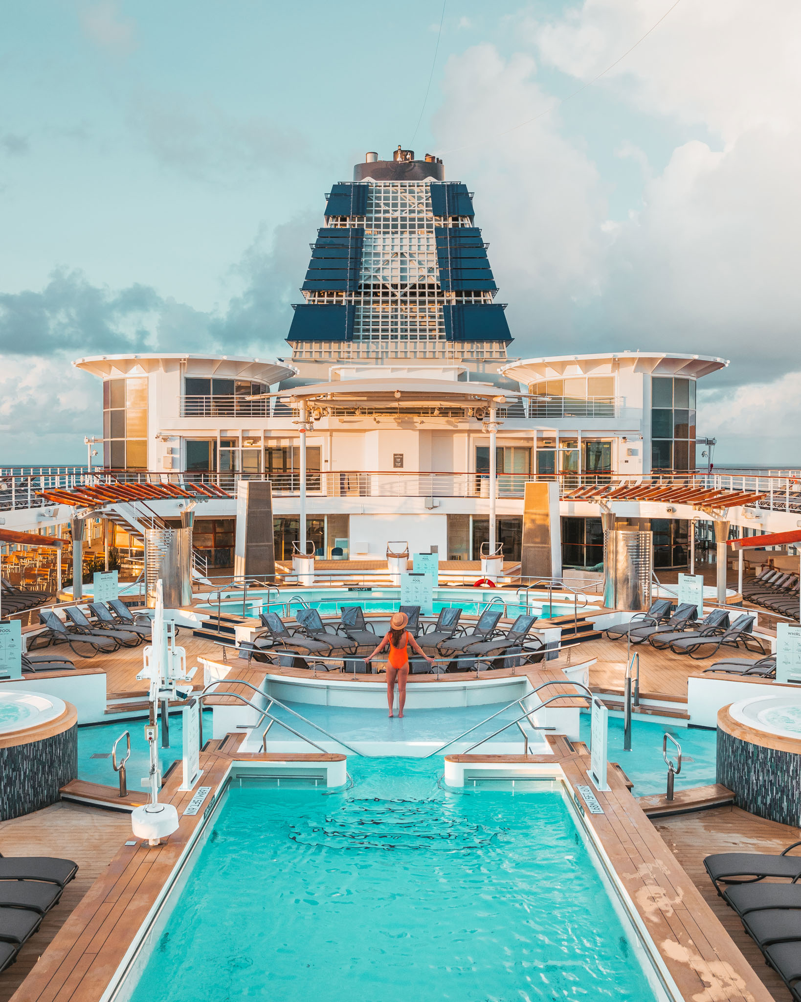 Main pool // Cruise Review: Everything You Need To Know About The Celebrity Summit