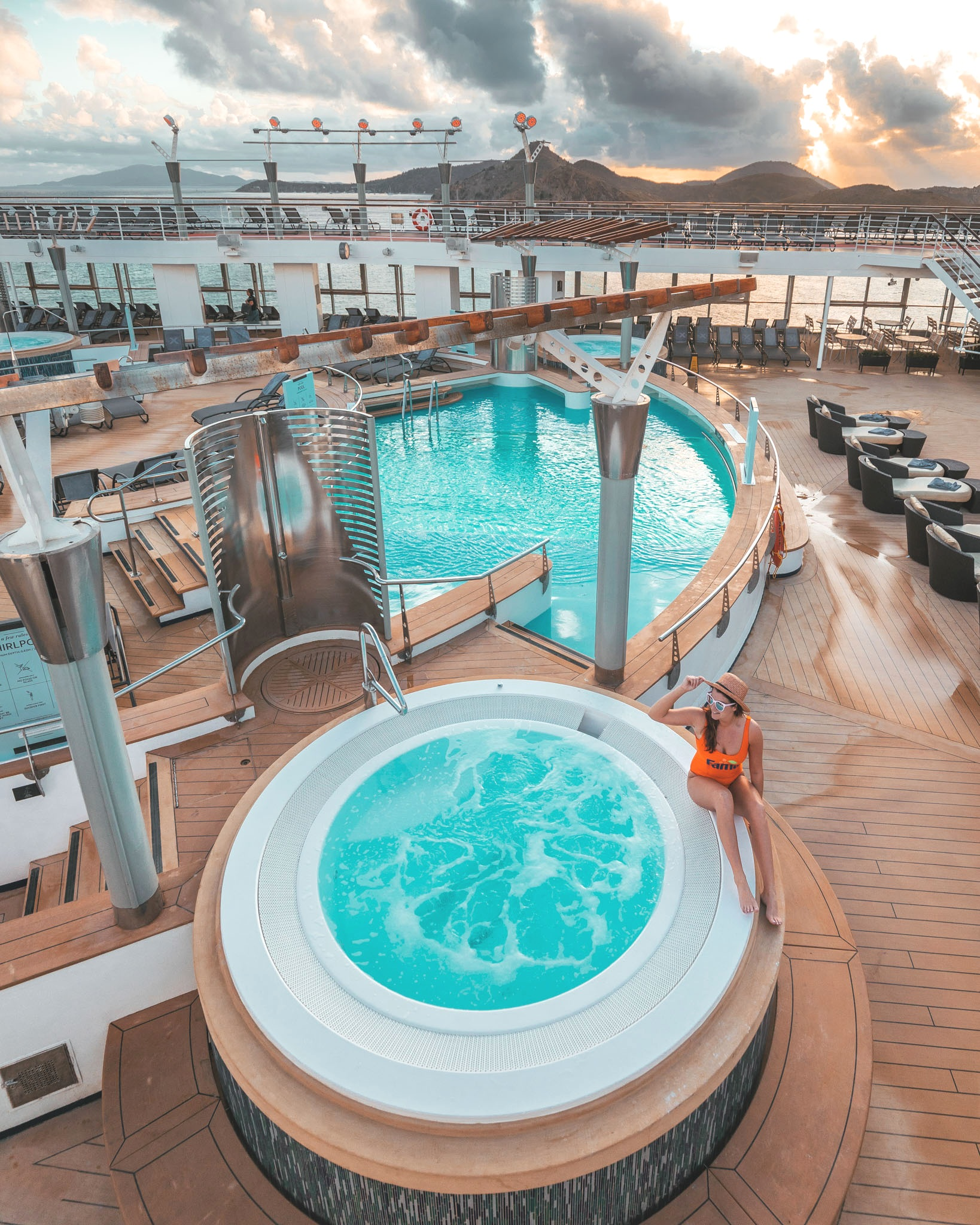Hot tubs // Cruise Review: Everything You Need To Know About The Celebrity Summit
