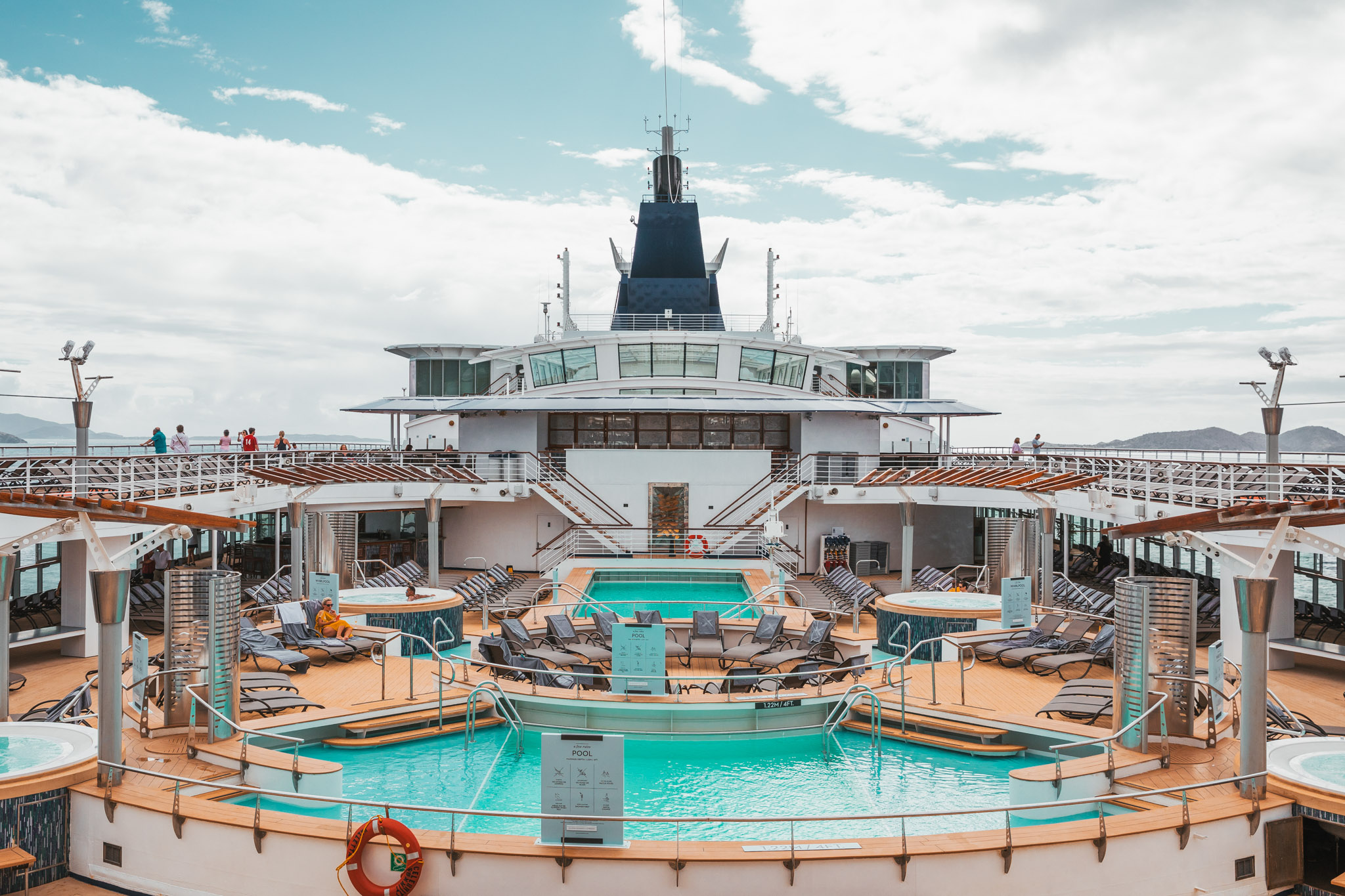 Main pools on deck 10 // Cruise Review: Everything You Need To Know About The Celebrity Summit