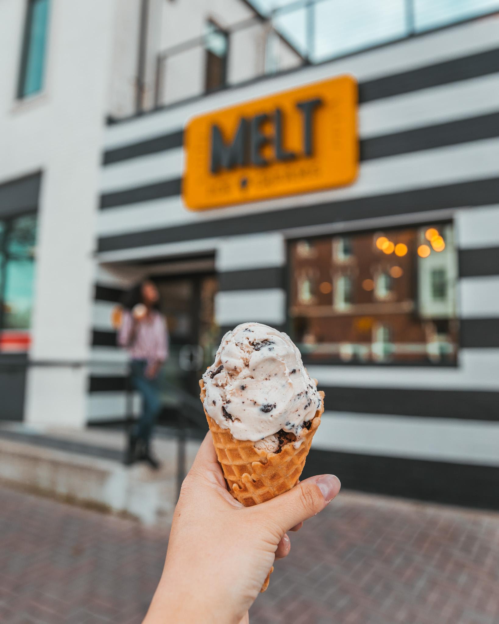 Melt Ice Creams on Magnolia Avenue, Fort Worth, Texas