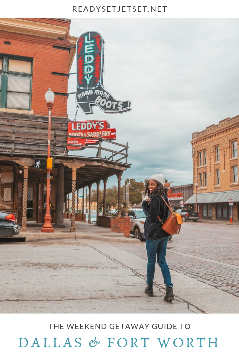 The Weekend Getaway Guide to Dallas and Forth Worth #readysetjetset #fortworth #dallas #dfw #texas #usa #travel #blogpost #travelguide #bbq #texmex