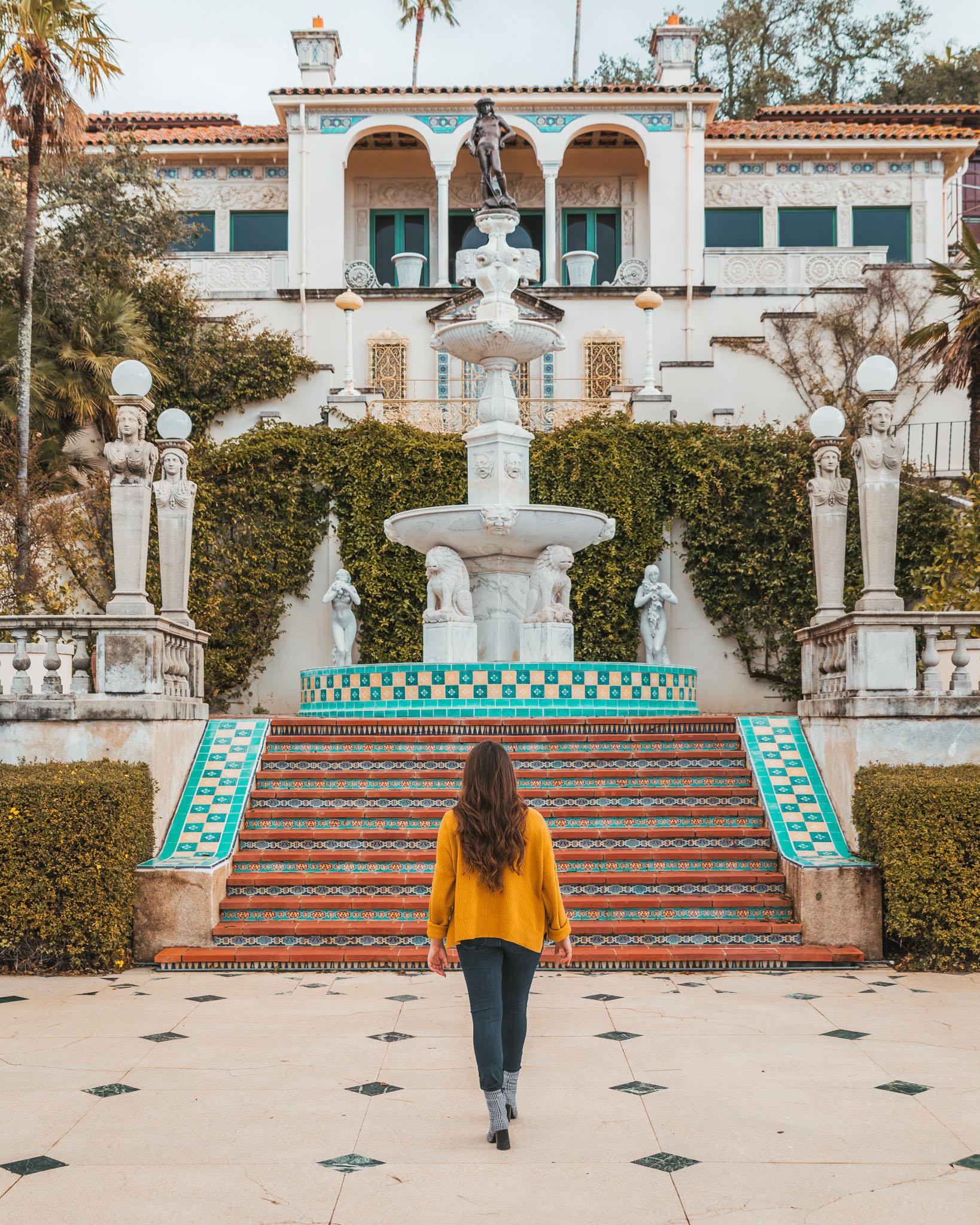 Casa del Sol at Hearst Castle ~ The Most Instagrammable Spots in SLO CAL County ~ #readysetjetset #slocal #california #blogpost #travel #sanluisobispo