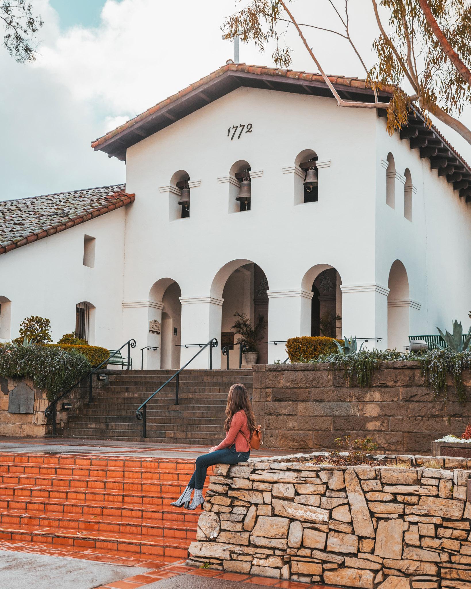 Mission San Luis Obispo de Tolosa ~ The Most Instagrammable Spots in SLO CAL County ~ #readysetjetset #slocal #california #blogpost #travel #sanluisobispo