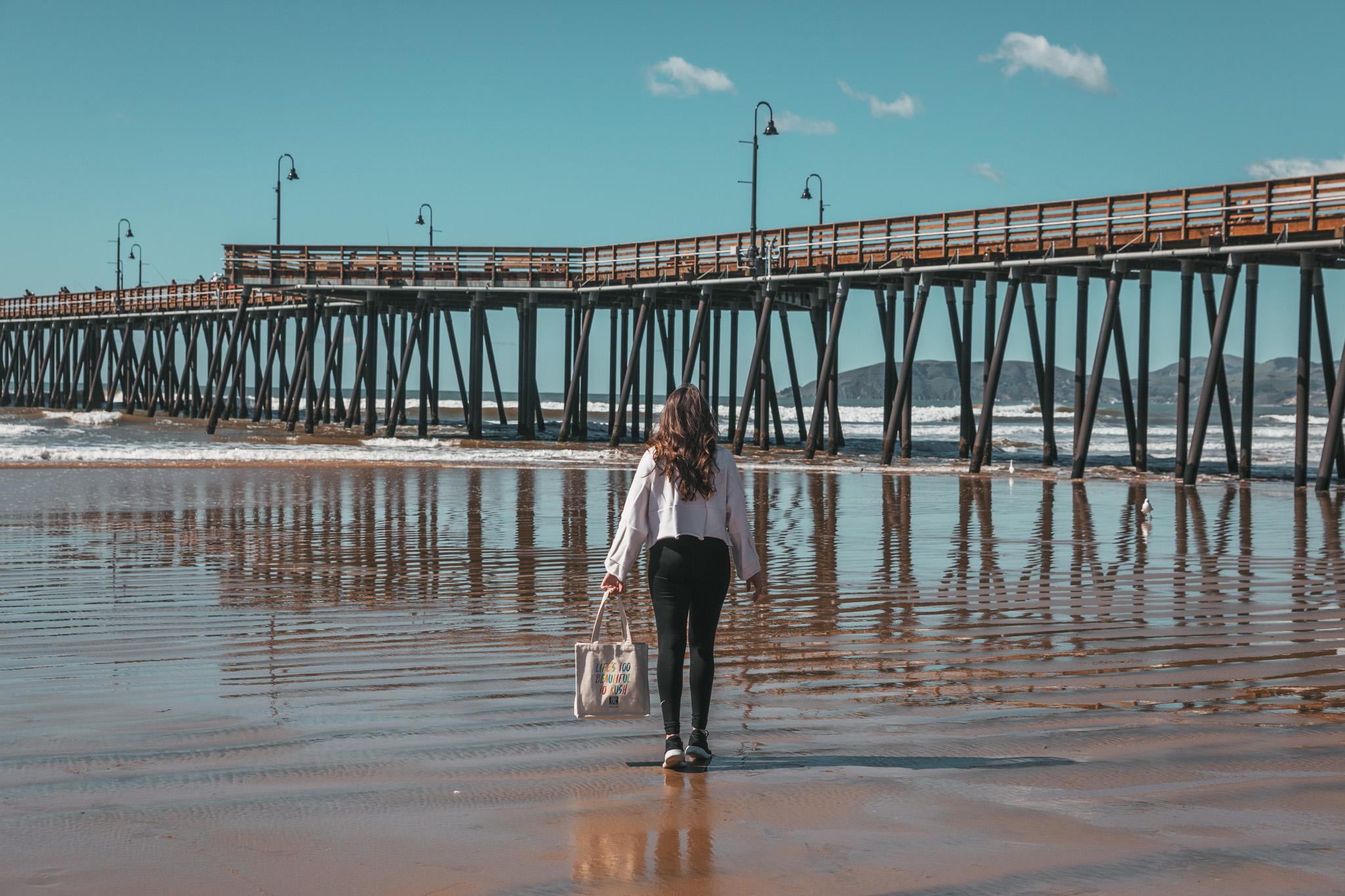 Pismo Beach pier ~ The Most Instagrammable Spots in SLO CAL County ~ #readysetjetset #slocal #california #blogpost #travel #sanluisobispo