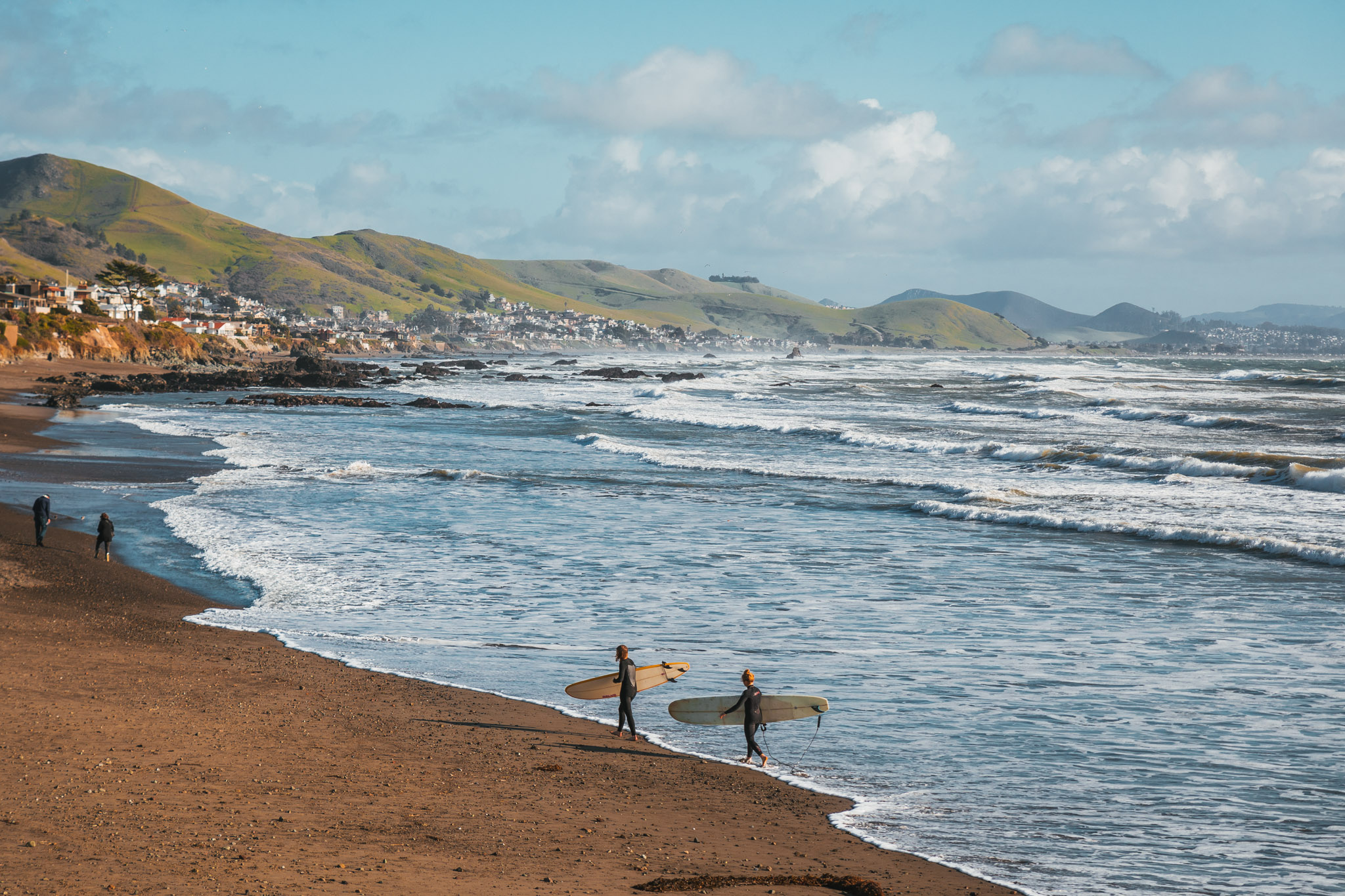 Cayucos beach ~ The Most Instagrammable Spots in SLO CAL County ~ #readysetjetset #slocal #california #blogpost #travel #sanluisobispo