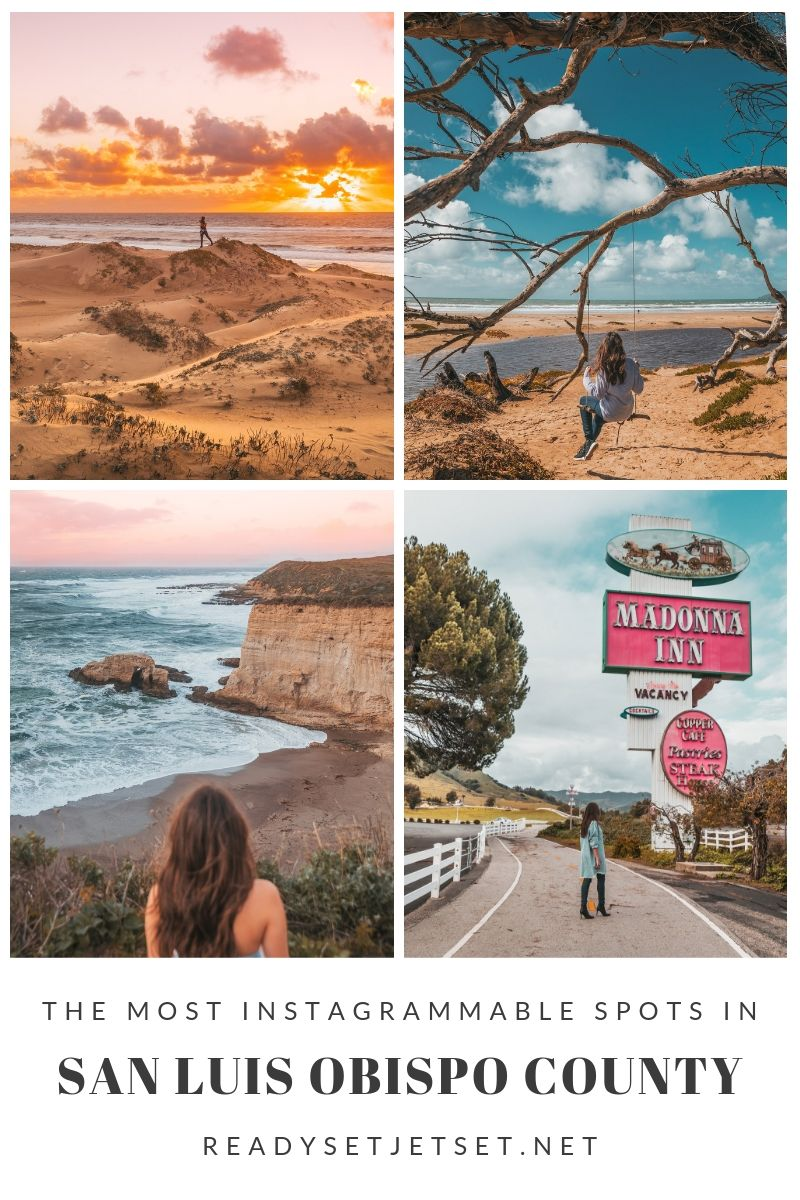 The Most Instagrammable Spots in SLO CAL County ~ #readysetjetset #slocal #california #blogpost #travel #sanluisobispo