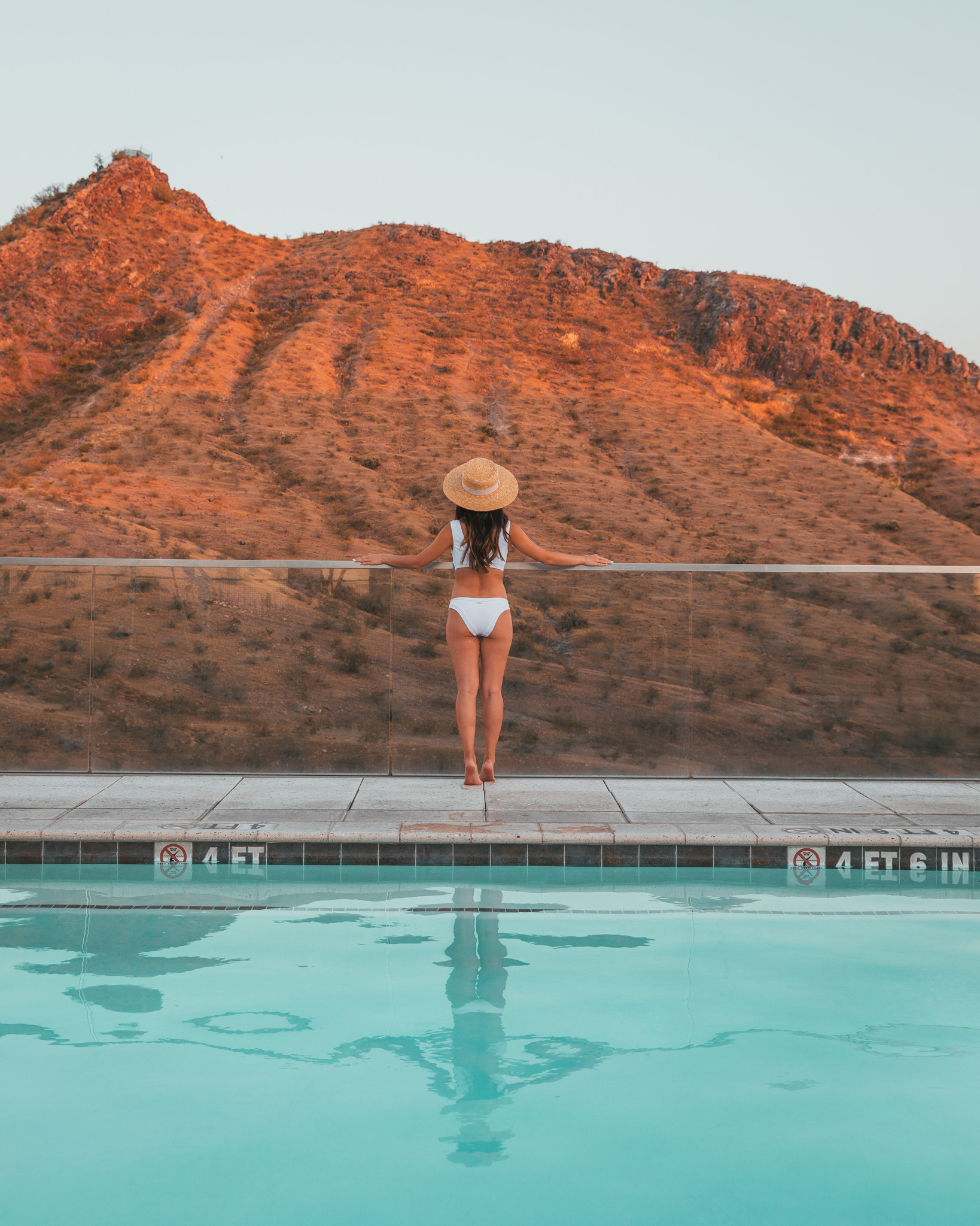 AC Hotel Phoenix Tempe Downtown rooftop pool ~ The Quick Guide to Tempe, Arizona