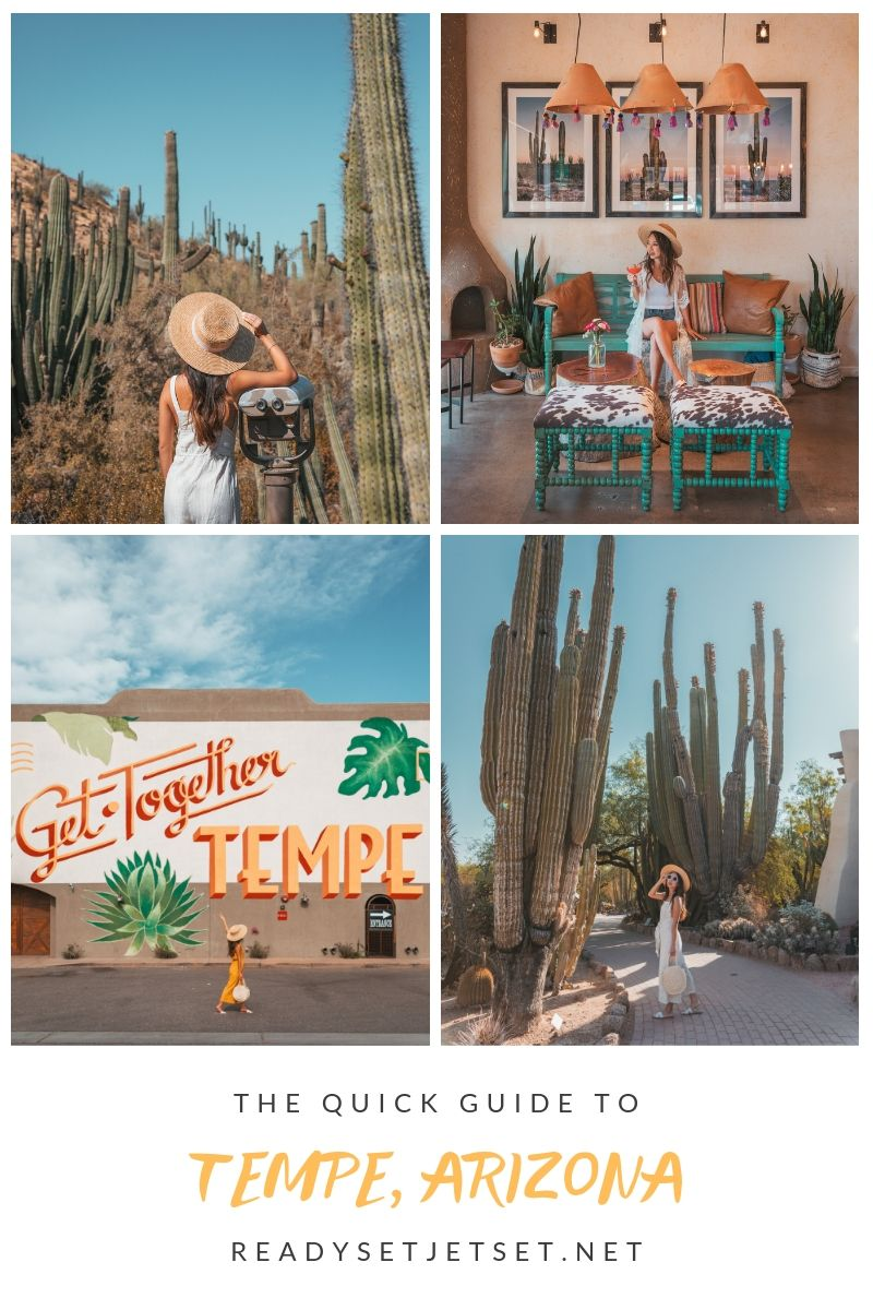 The Quick Guide to Tempe, Arizona ~ #readysetjetset #tempe #arizona #blogpost #travel #az #USA #AZ