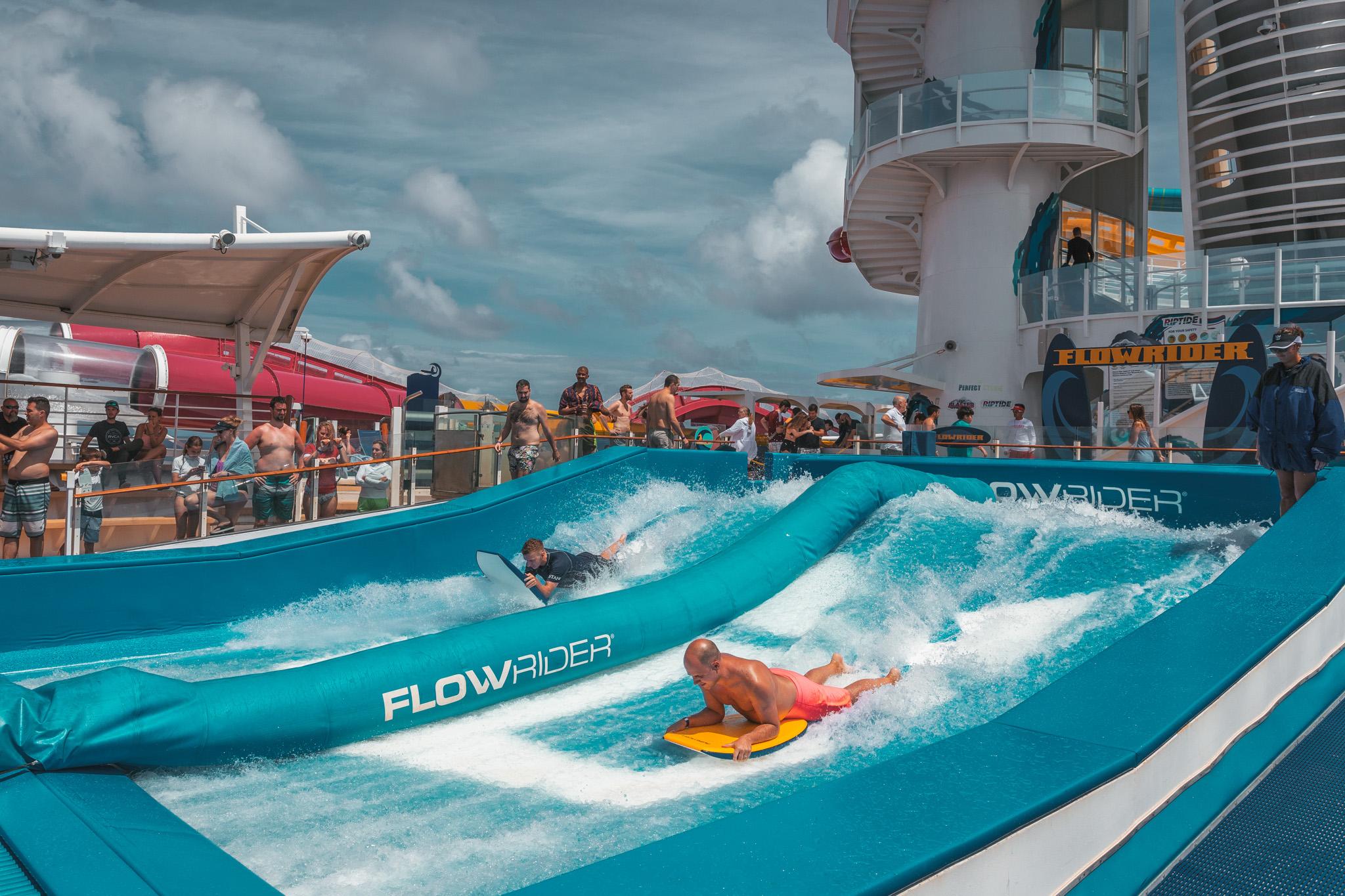 Flowrider ~ Cruise Review: Royal Caribbean Navigator of the Seas