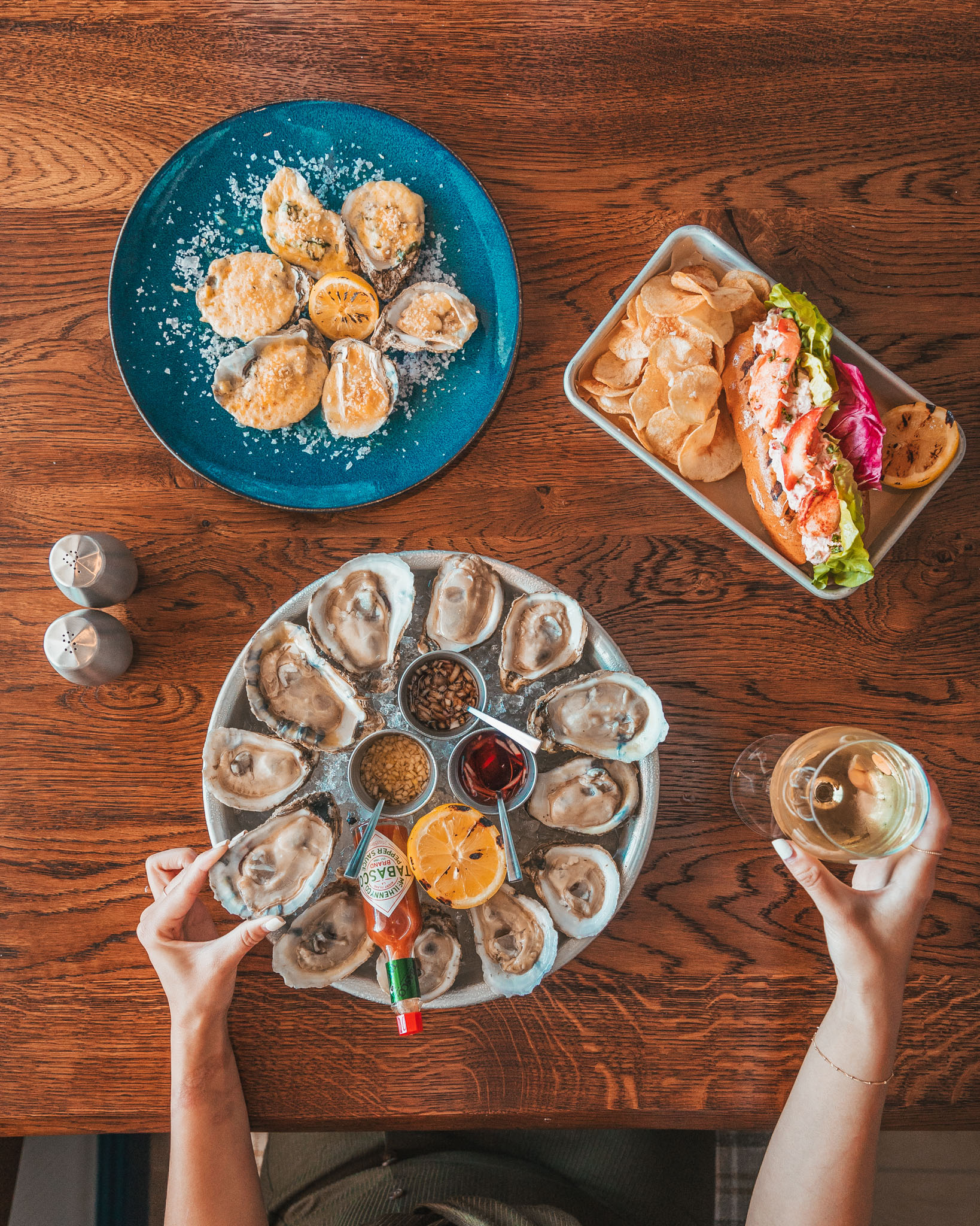 Hooked Seafood restaurant ~ Cruise Review: Royal Caribbean Navigator of the Seas