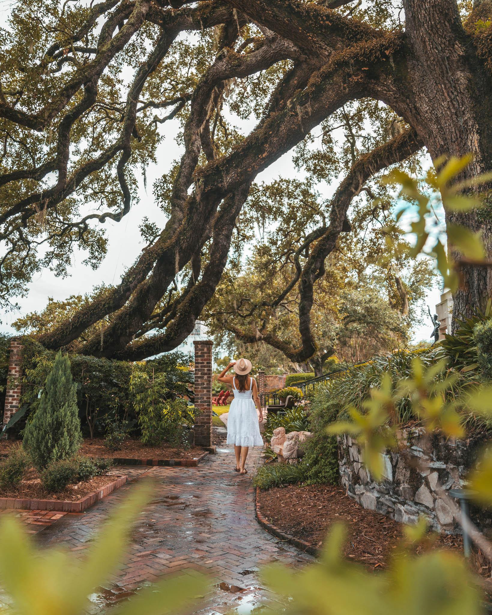 Cummer Museum gardens ~ Top Things to Do in Jacksonville, Florida ~ #readysetjetset #florida #jax #jacksonville #blogpost #travel