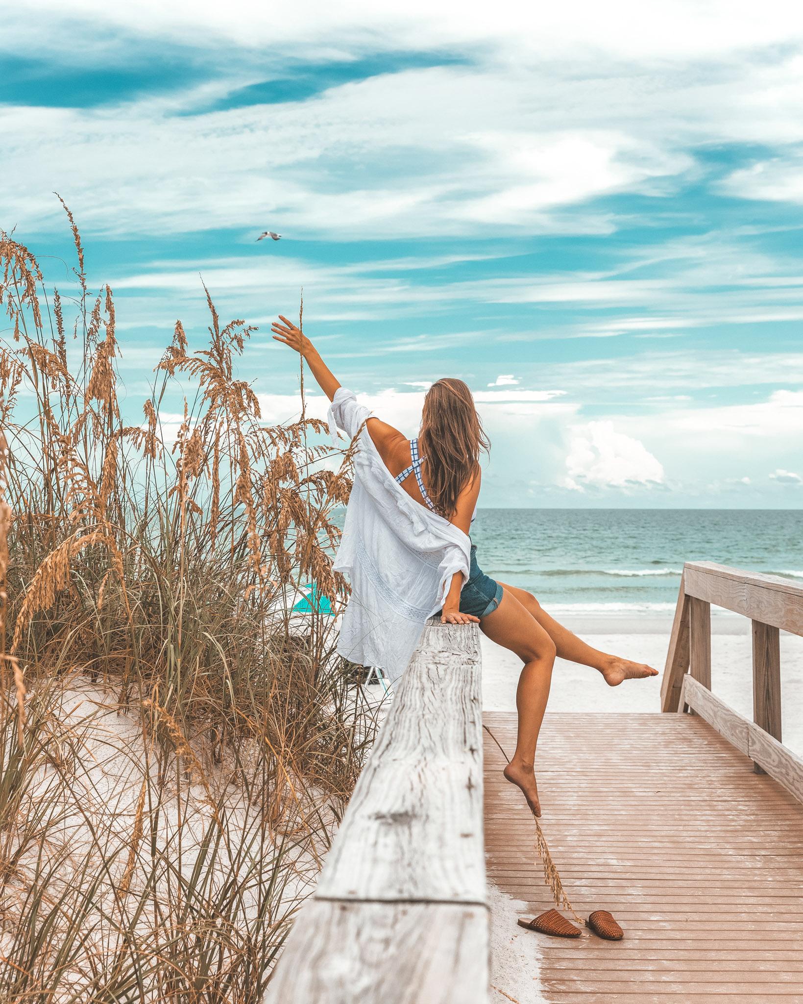 Jacksonville beaches at One Ocean Resort ~ Top Things to Do in Jacksonville, Florida ~ #readysetjetset #florida #jax #jacksonville #blogpost #travel