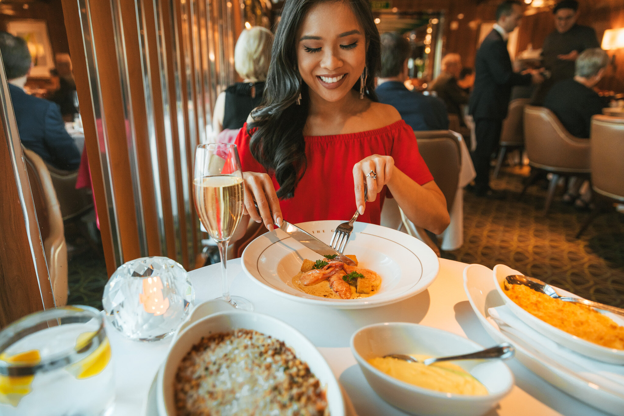 The Grill by Thomas Keller onboard the Seabourn Quest // Cruise Review: 11-Day New England & Canada on the Seabourn Quest // #readysetjetset #canada #cruise #luxury #travel #cruising