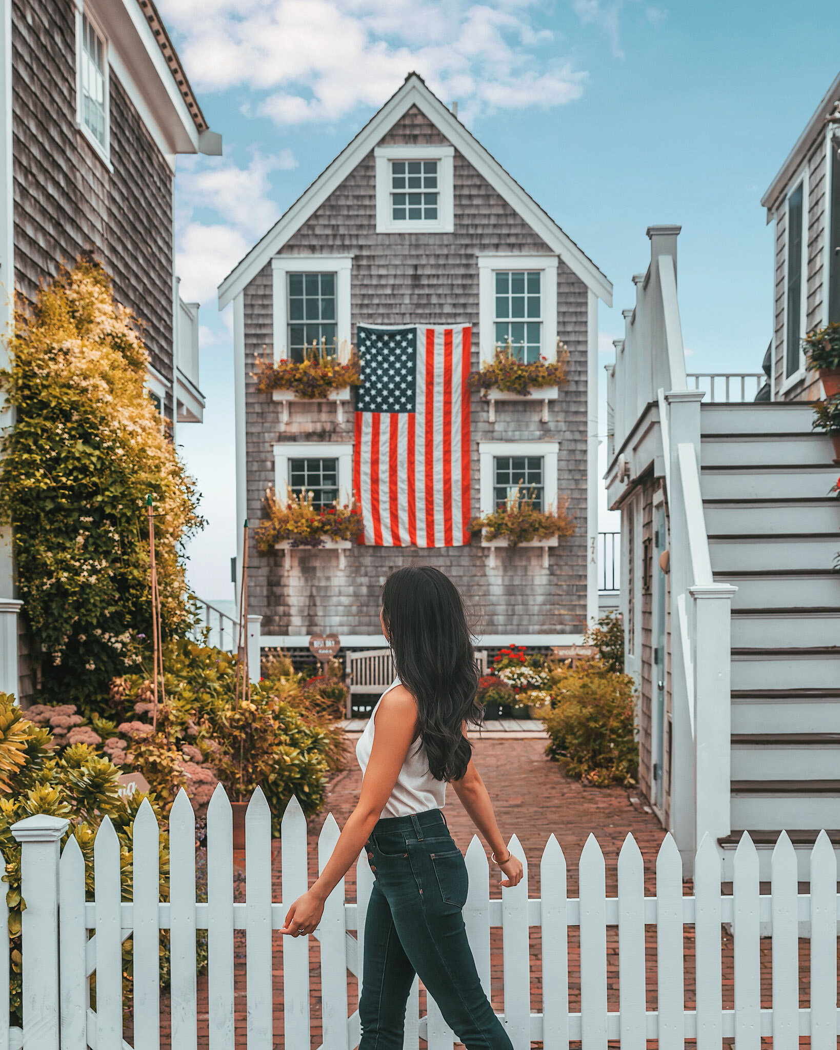 Provincetown, Massachusetts cute house // Cruise Review: 11-Day New England & Canada on the Seabourn Quest // #readysetjetset #cruise #luxury #travel #cruising