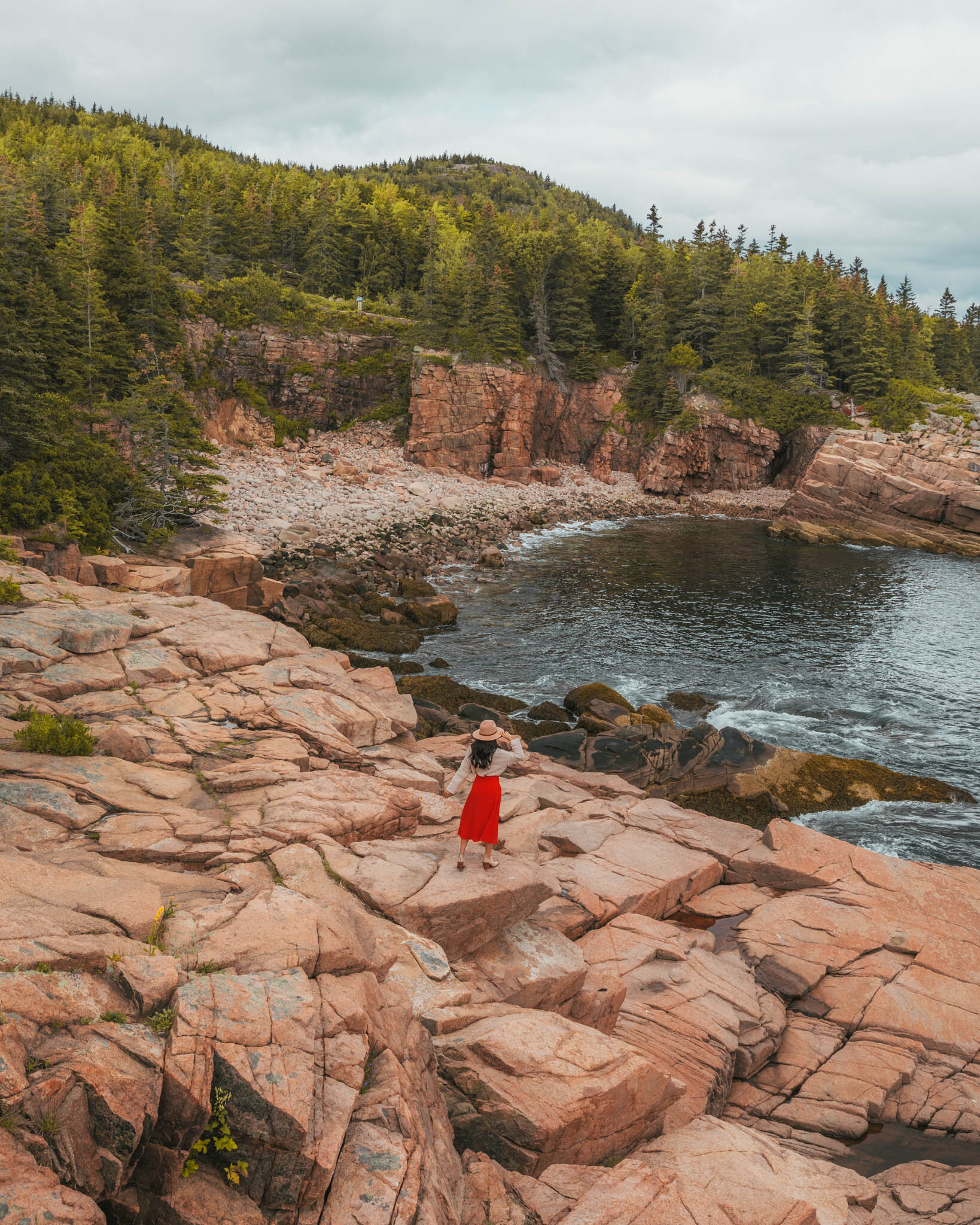 Cliffs at Acadia National Park // Cruise Review: 11-Day New England & Canada on the Seabourn Quest // #readysetjetset #cruise #luxury #travel #cruising