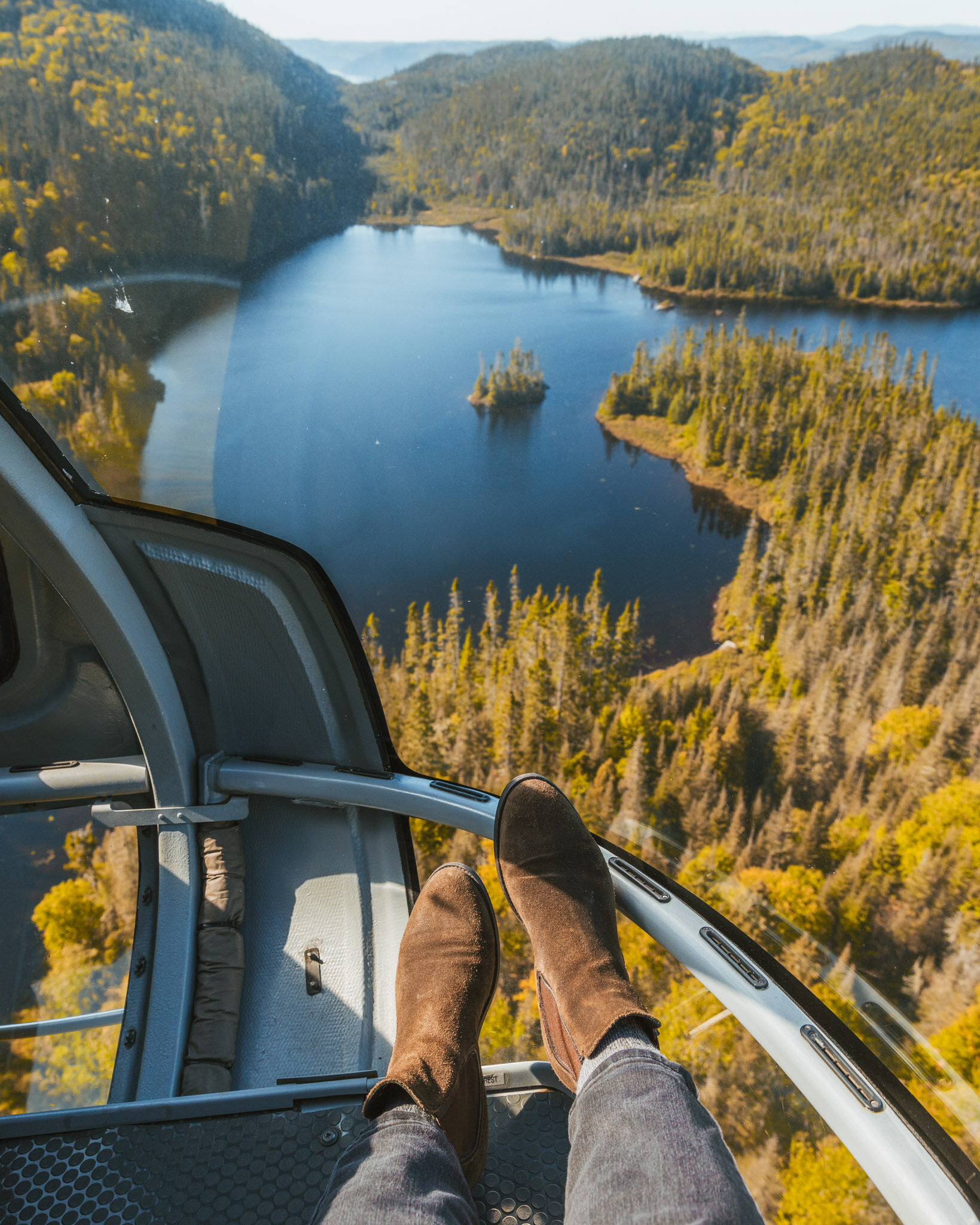 Saguenay Fjord helicopter tour // Cruise Review: 11-Day New England & Canada on the Seabourn Quest // #readysetjetset #cruise #luxury #travel #cruising #canada