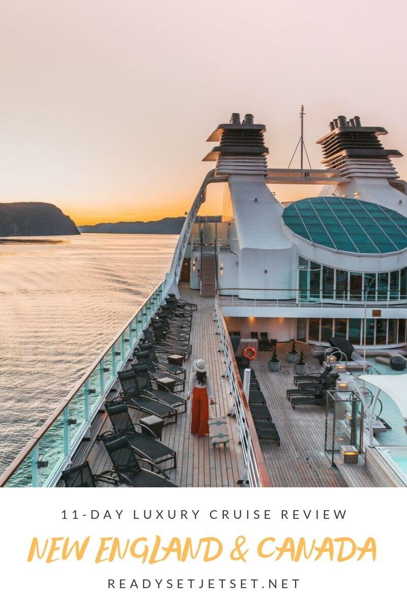 Cruise Review: 11-Day New England & Canada on the Seabourn Quest // #readysetjetset #cruise #luxury #travel #cruising #canada