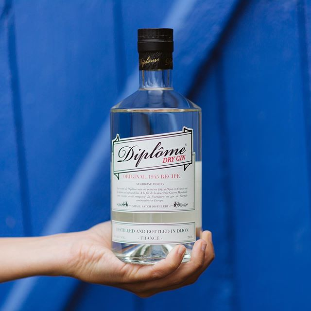 Only Diplome Gin.  #diplomegin #madeinfrance🇫🇷 #since1945