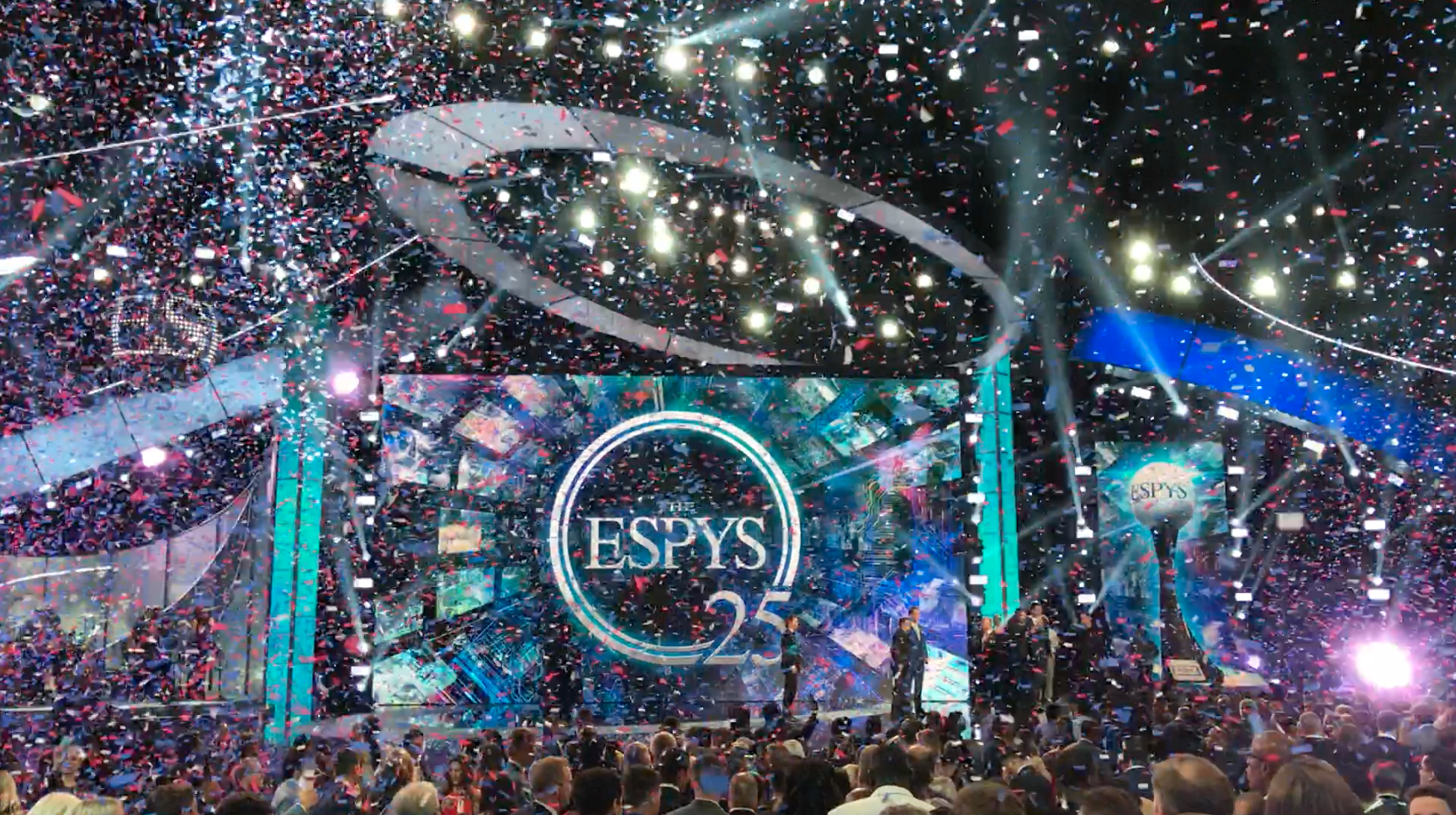 The 2017 ESPY Awards at Microsoft Theater, Los Angeles, CA