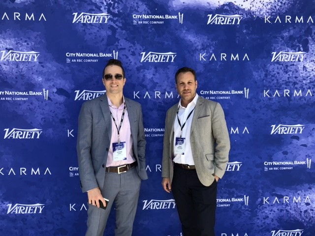 Steven J. Levy and Jason Adelman at the 2017 Variety Sports & Entertainment Summit