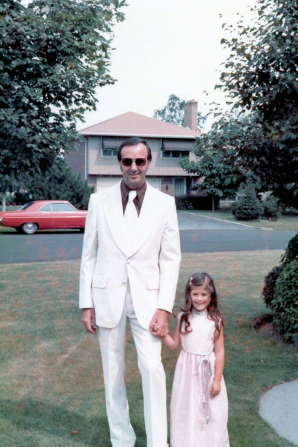 My dad taught me the power of a great suit.