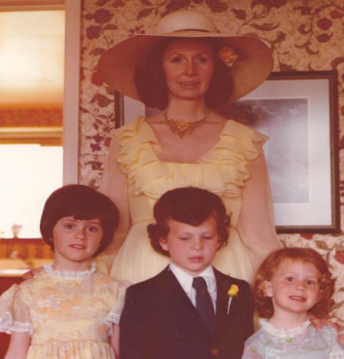 Don't let these 70's styles fool you. My mum was a major fashionista and an award winning interior designer. I miss her every day.
