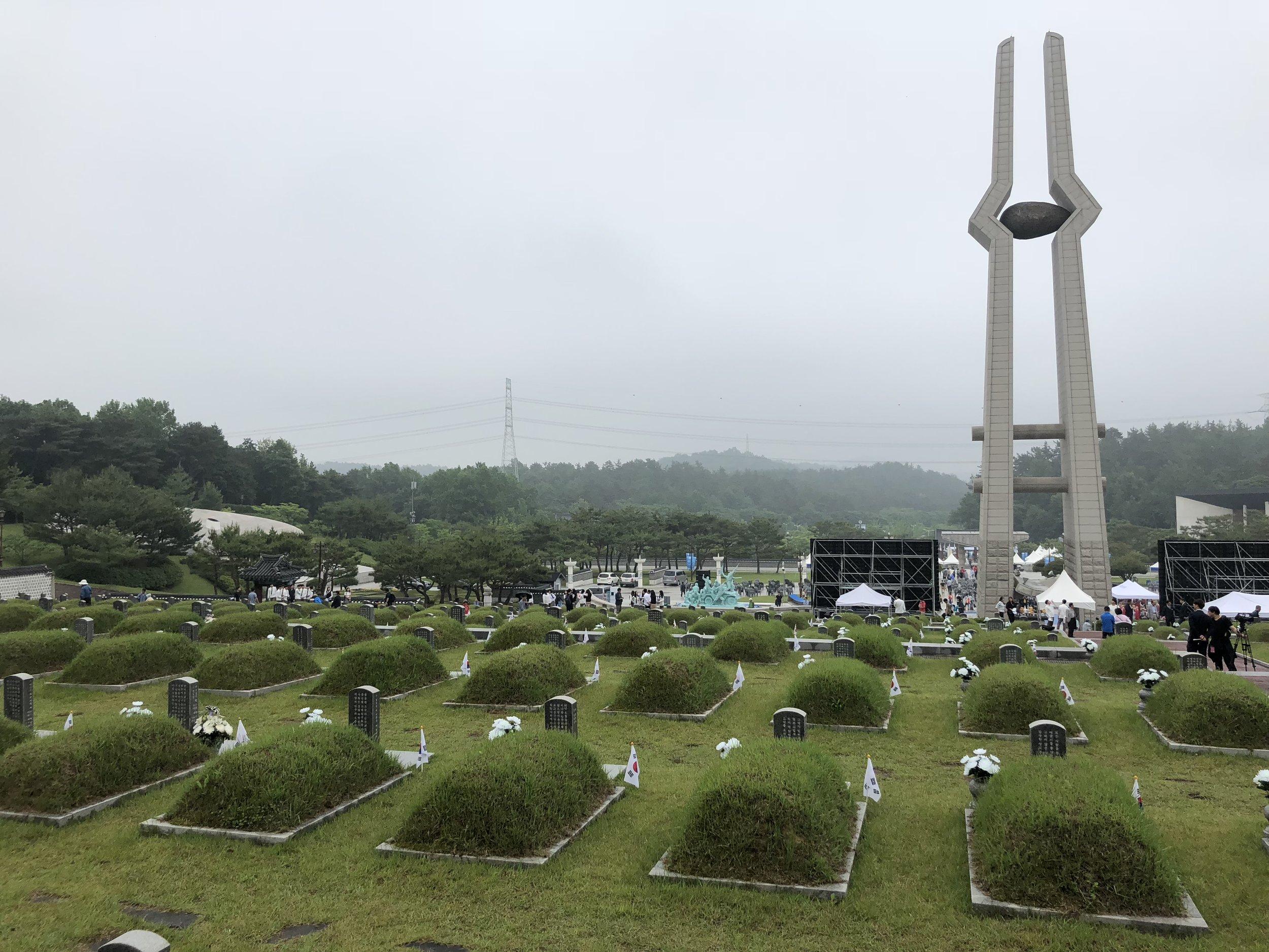 May 18 National Cemetery, Gwangju