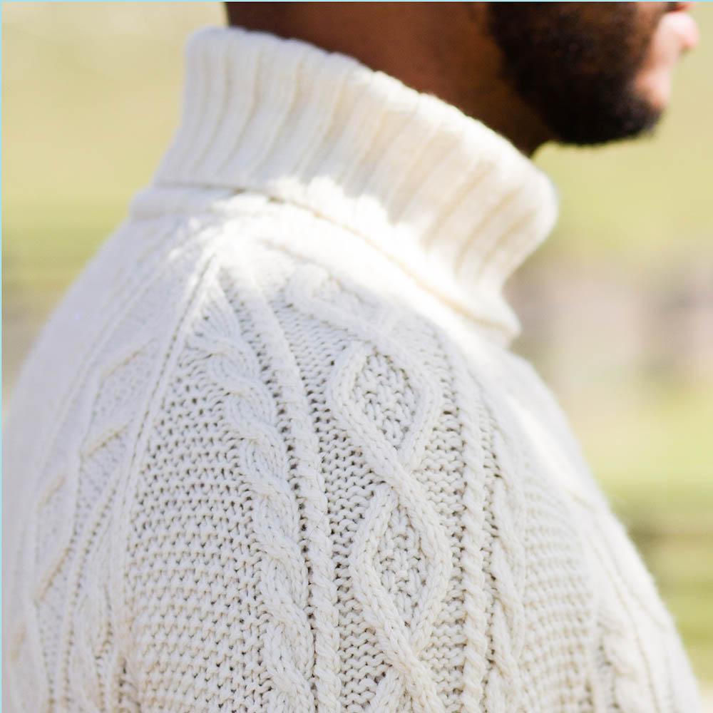 Robert shoulder closeup