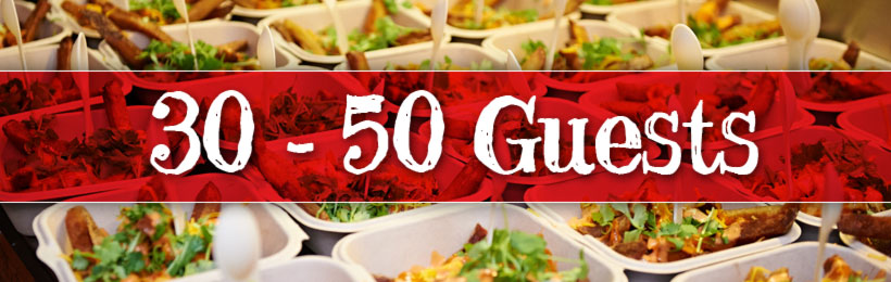 30 to 50 Guest Food Truck Catering