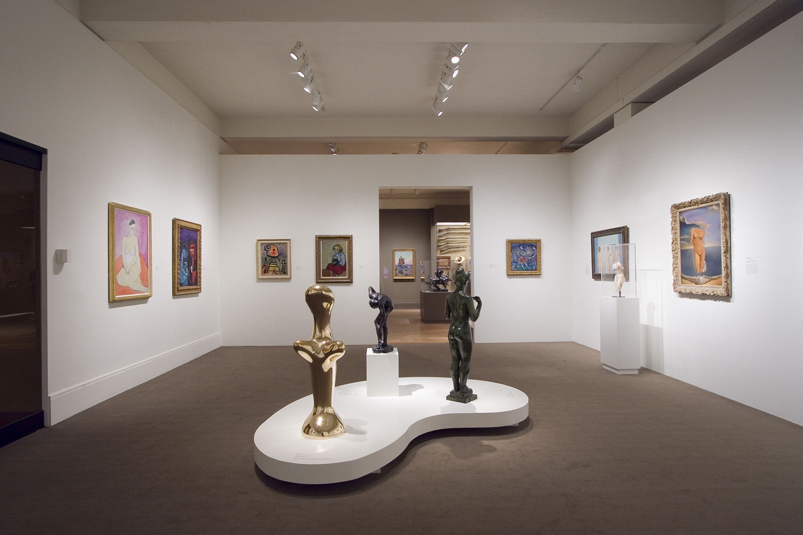 Modern Art section of the Exhibition