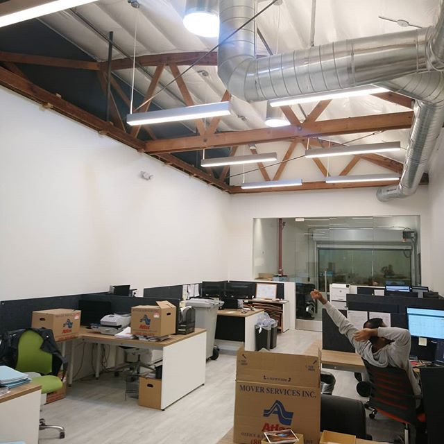 Sattar & Associates move-in #workplace #bowtruss #punchlist #yay