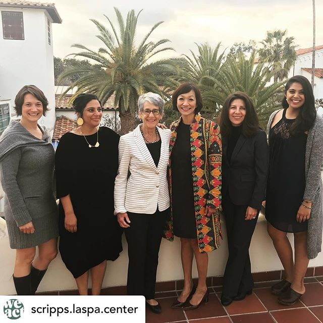 So thrilled to be back at Scripps College for the Laspa Center for Leadership and honored to be in the company of so many incredible women leaders from different fields. The keynote speaker was inspiring!