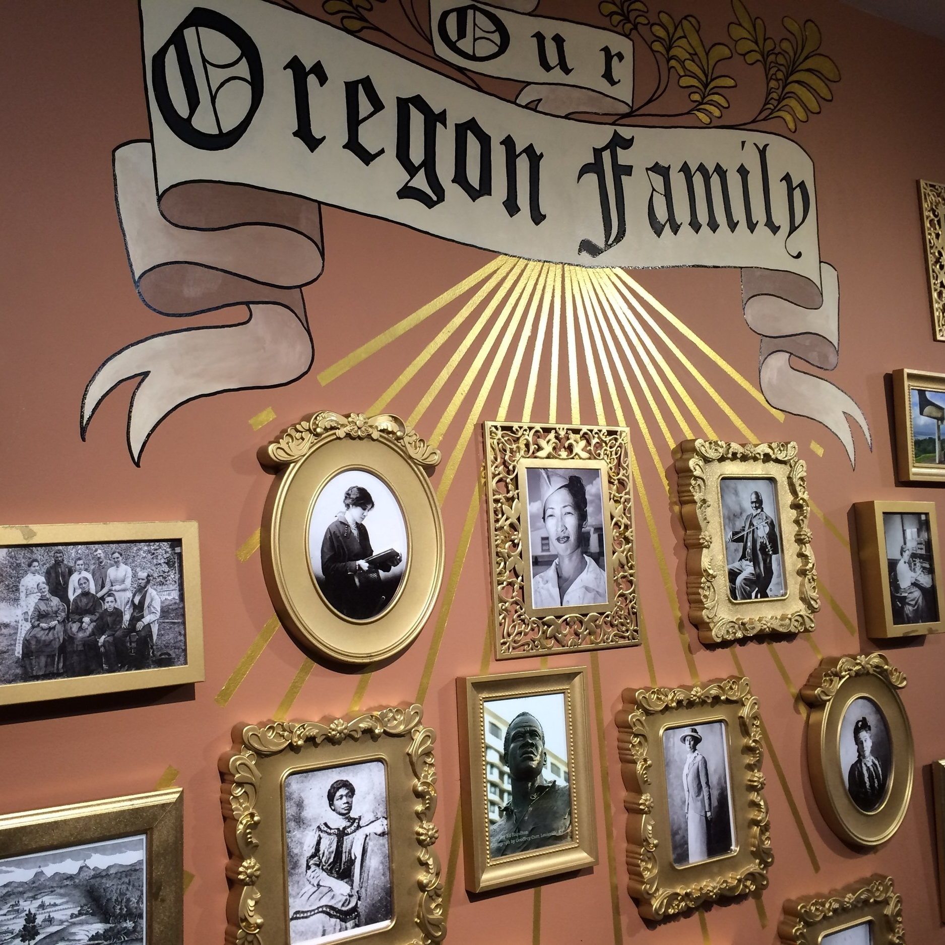 The history and diversity of our state's trailblazers is showcased through imagery and a timeline.