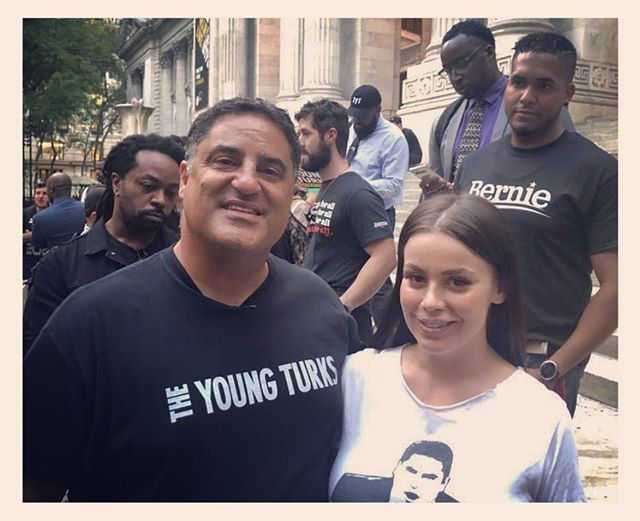Ohoooosnap! @tyt_army @cenkuygur @theyoungturks was out in full force tonight! Ready to band together and fight for progressive change in this city! The Revolution is now. ✊🏼✊🏿✊🏻✊🏽✊🏾@abigailfunpics @kpbartley