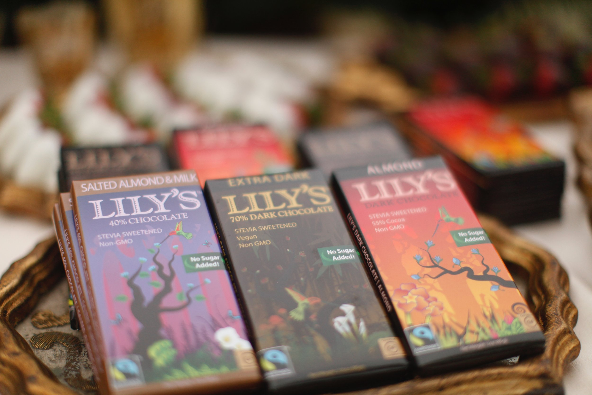 Lily's Sweet Chocolate Bars