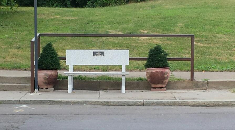 Bench on S. Salina St.