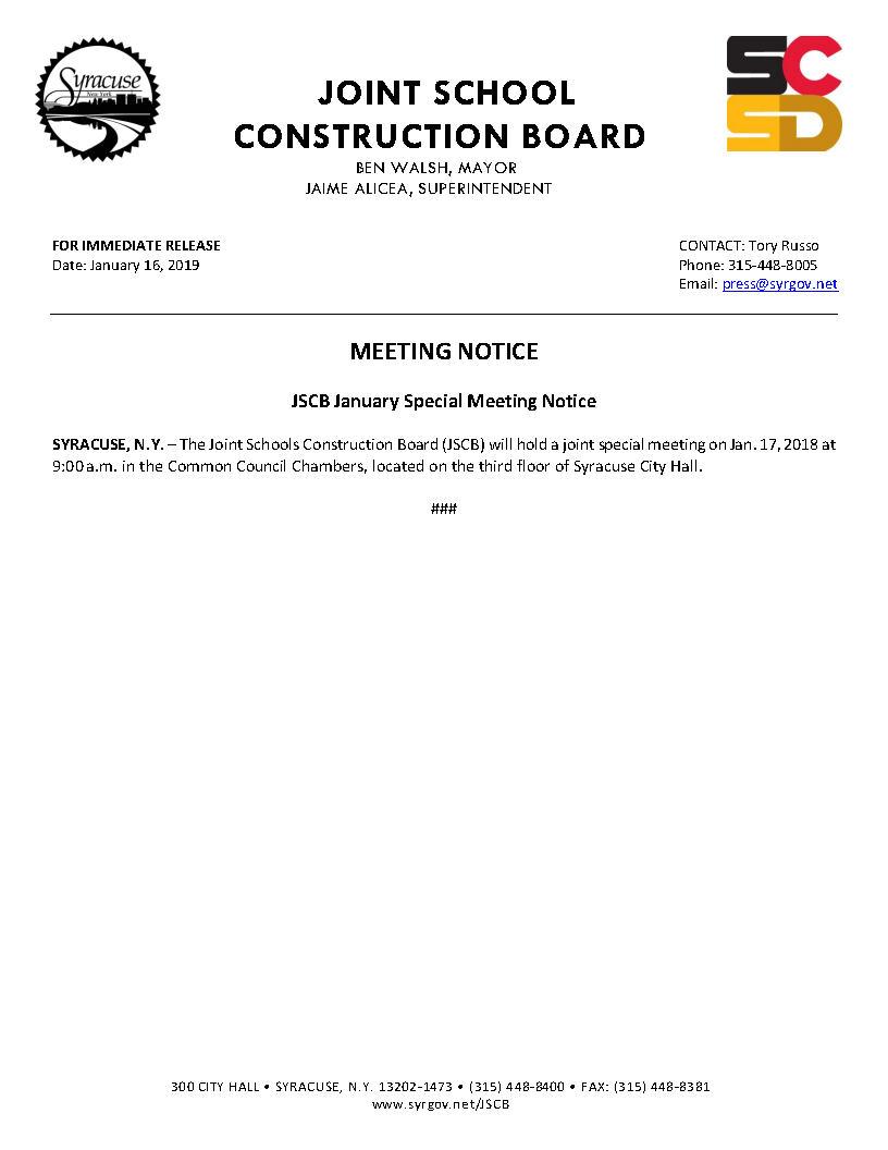 2019 01 16 MEETING NOTICE JSCB January Special Meeting Notice.jpg