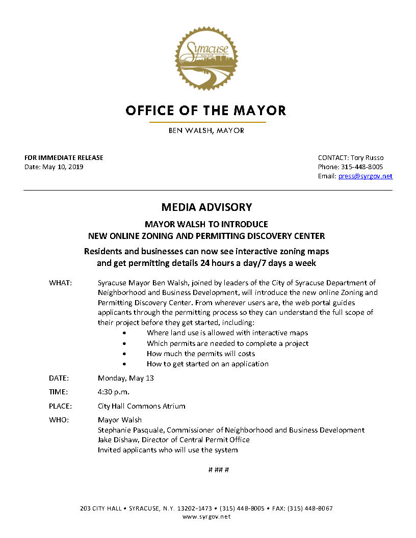 2019 05 10 MEDIA ADVISORY Mayor Walsh to Introduce Online Zoning and Permitting Discovery Center.jpg