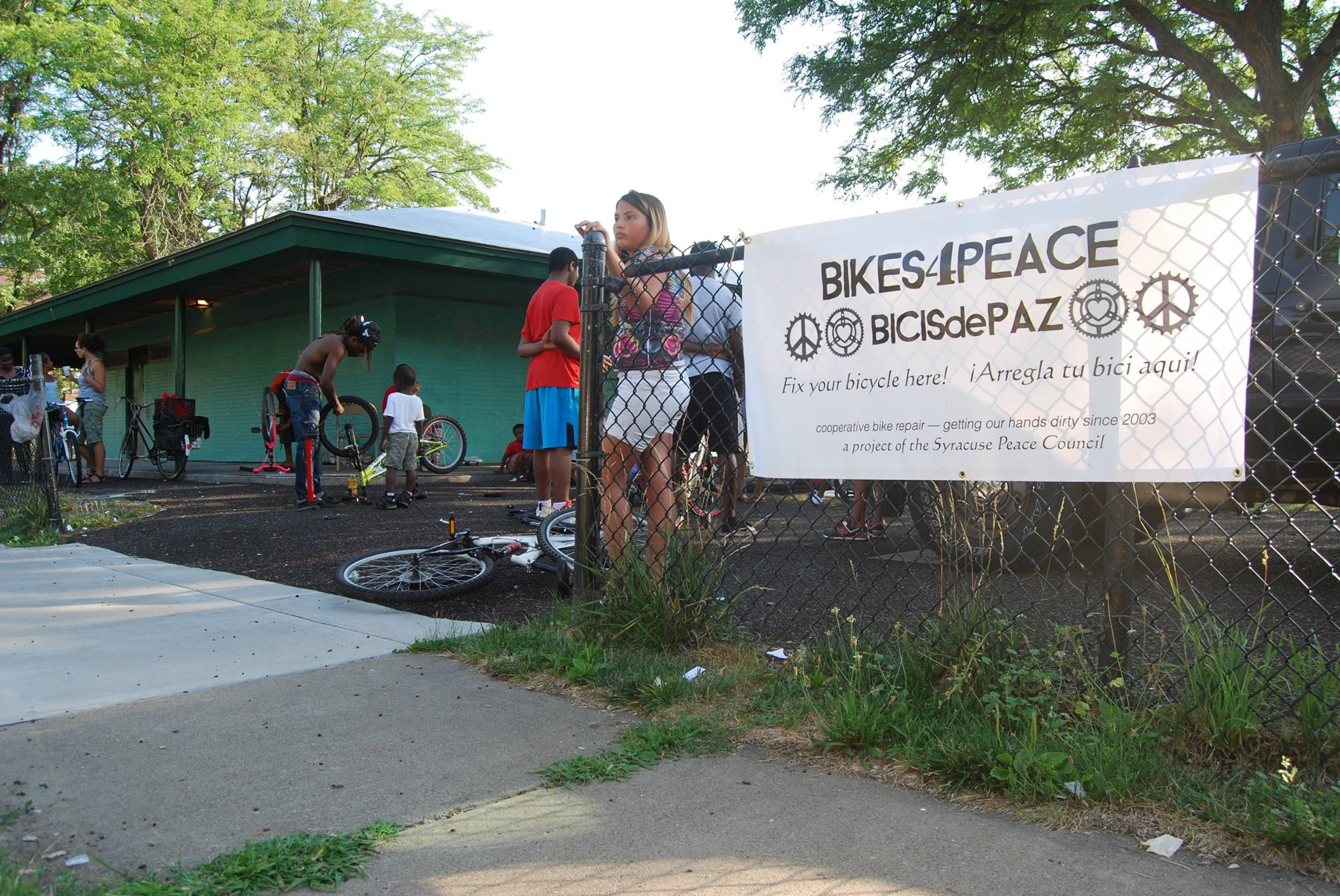 2016 Bikes for Peace