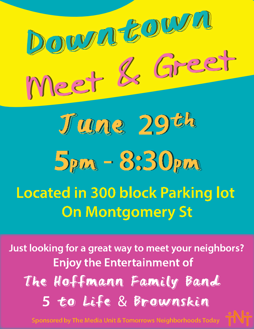 2017 Downtown Meet and Greet event