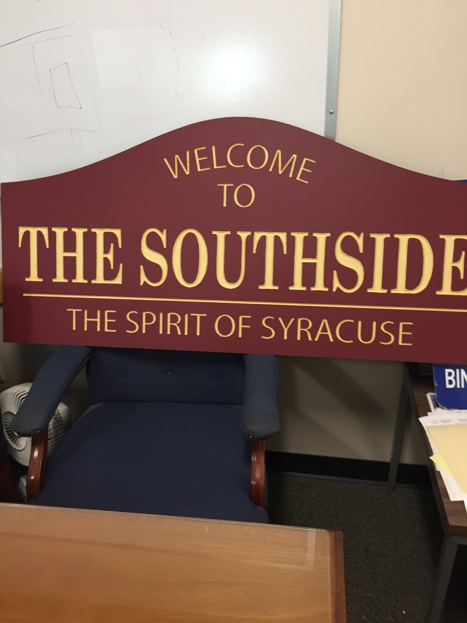 2016 Welcome to the Southside Sign