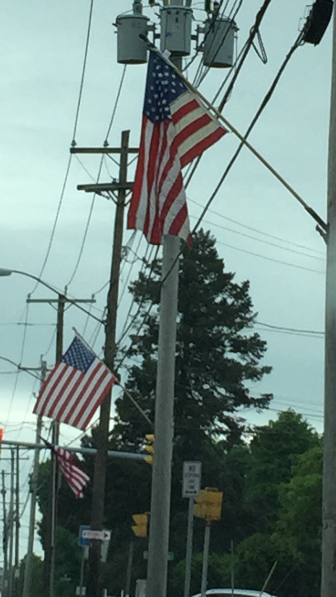 2016 American Flags on James St.