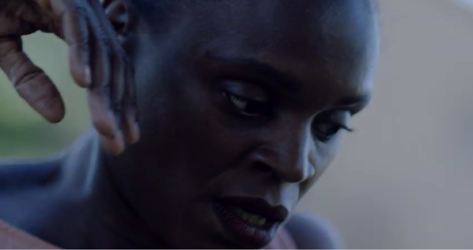 "Okwui Okpokwasili in the video for ""4:44"""